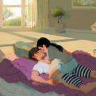 láska, ilustrácie