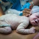 pôrod, fotografie z pôrodu, pôrodnica, placenta, novorodenec, realita pôrodu