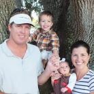 Keri s manželom a deťmi