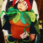 halloween, bábätká v kostýmoch