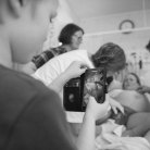 pôrod doma, pôrod s deťmi