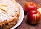 koláče s chuťou jesene, jablkový koláč, škorica, hrozno, dezert