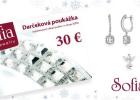 SÚŤAŽ: VYHRAJTE poukážku nákup šperkov podľa vlastného výberu v e-shope SOFIA.