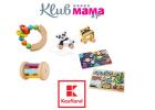 SÚŤAŽ s KLUBOM Mama a ja a Kauflandom: Vyhrajte drevené hračky