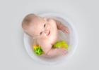 Kúpať dieťa, aj keď je choré?