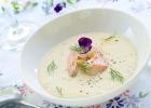lososova kremova polievka