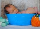 Kúpanie bábätka: Čo tak skúsiť kúpacie vedierko?