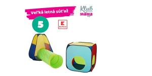 LETO s Kauflandom: SÚŤAŽ! Zapojte sa a vyhrajte Kidland Detský stan na hranie