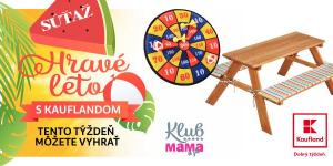 HRAVÉ LETO: Si v Klube Mama a ja? Hraj o skvelé ceny od Kauflandu