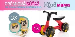 Prázdninová súťaž s KLUBOM Premium