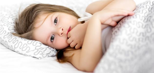 teplota, znižovanie horúčky, choré dieťa