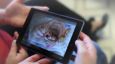 Fotografia ako spojenie rodiča a dieťatka