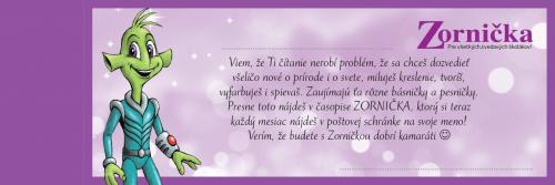 Darovacia kartička Zornička
