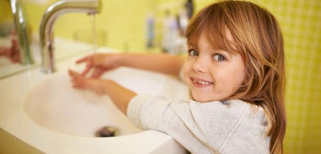 umývanie rúk, umývať si ruky, deti, hygiena