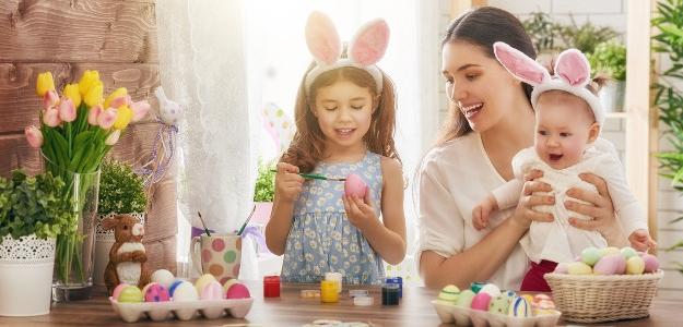 Veľká noc, tradície, maľovanie vajíčok, hľadanie vajíčok, šibačka, pohanský sviatok, kresťanský sviatok