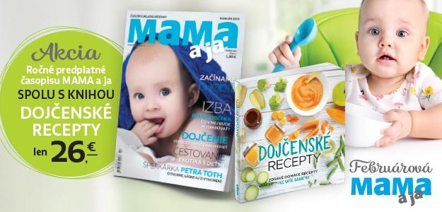 Spríjemnite si február s MAMA a ja. Váš časopis na každú príležitosť