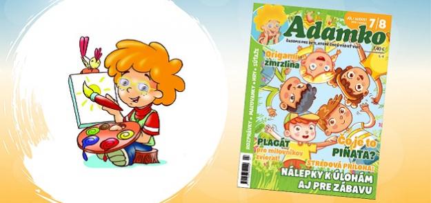 Čo ťa čaká v letnom čísle časopisu ADAMKO?