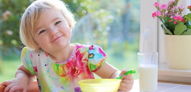 Vzorový jedálniček v 1. roku života dieťaťa