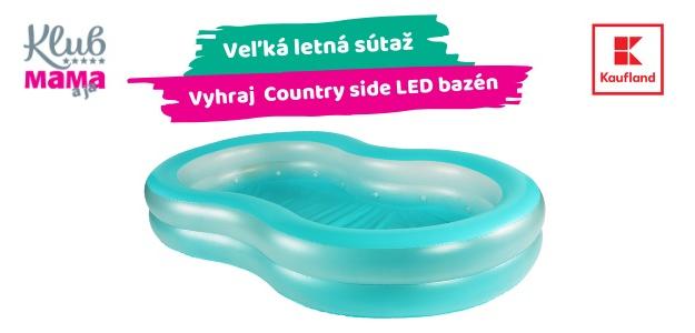 LETO s Kauflandom: SÚŤAŽ! Zapojte sa a vyhrajte bazén