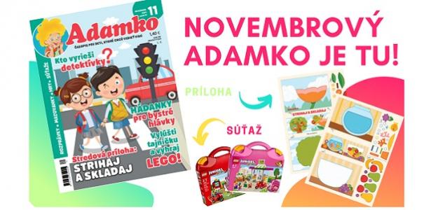 Máte už novembrového Adamka?