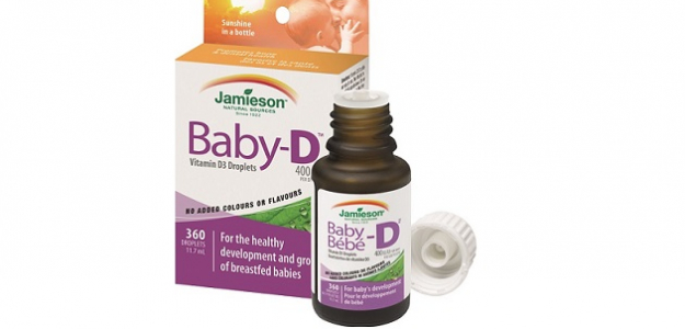 SÚŤAŽ: Vyhrajte prírodný vitamín BABY-D Jamieson