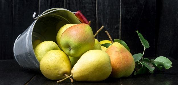 hruška, prvý príkrm, desiata, ovocie, kaša, puding