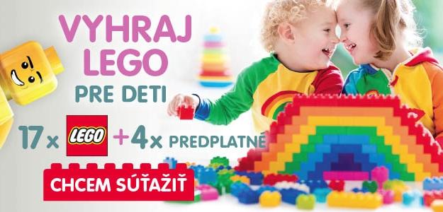 Pozor, súťaž! MAMA a ja v spolupráci s LEGO® DUPLO® vám prináša ďalšiu skvelú súťaž plnú atraktívnych cien!