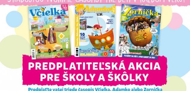 Predplaťte si detský časopis!