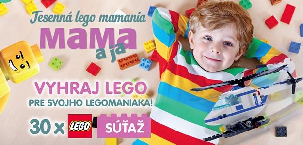 Pozor, súťaž! Jesenná LEGO MAMANIA!