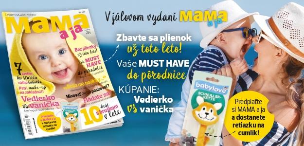 Nové číslo  najčítanejšieho mamičkovského časopisu  MAMA a ja práve v predaji!