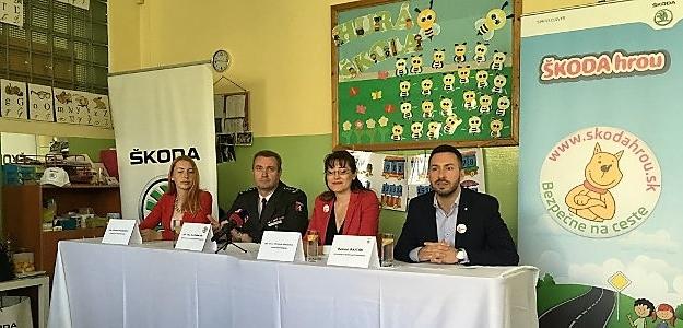 Projekt ŠKODA Hrou bude učiť dopravnú výchovu aj predškolákov