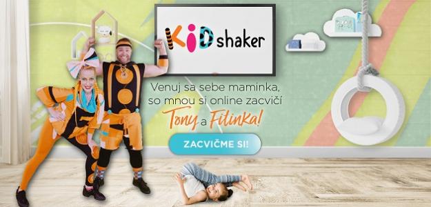Ste v Klube Mama a ja? Zacvičte si s deťmi celý mesiac zadarmo s programom KIDshaker