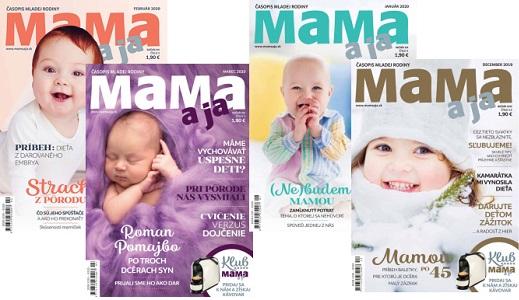 Časopis Mama a ja: Pár chvíľ, ktoré môžete mať pre seba