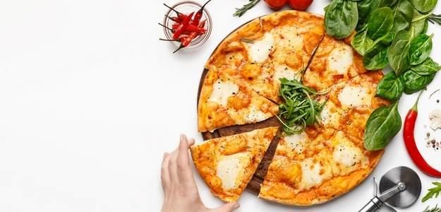 Celozrnná jogurtová pizza