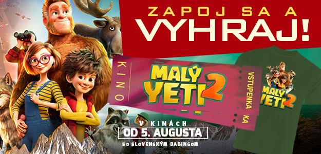 Súťaž o lístky do kina: Malý Yeti 2 čaká aj na vás