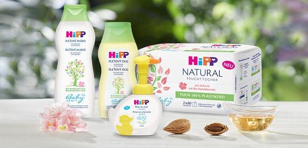 Súťaž o balíčky kozmetiky HiPP Babysanft