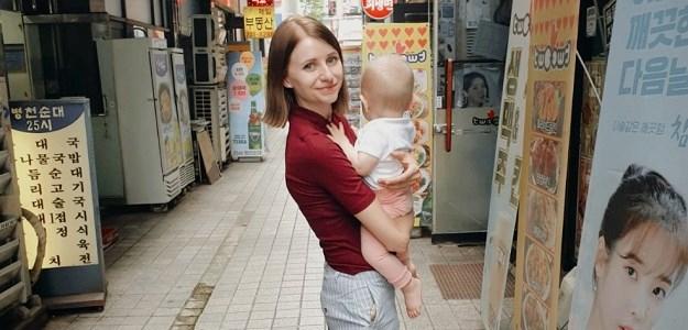 Mama v Kórei