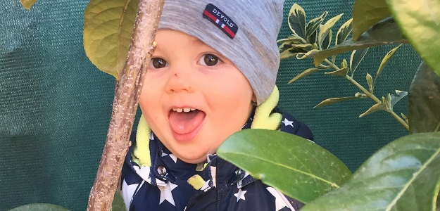 Adamko má 16 mesiacov: Ja sám!