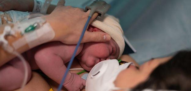 Pôrod s COVID-19
