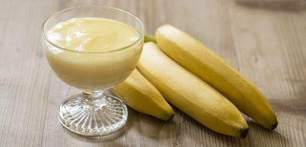 Banánový puding