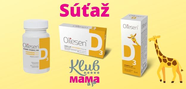 Súťaž o balíček produktov OILESEN