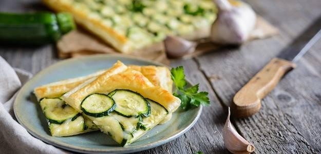 Zeleninový snack s cuketou
