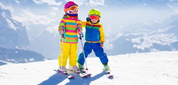 ako vybrať deťom lyže, lyže, lyžovanie, zimné športy