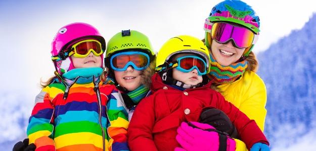 zimné oblečenie, nepremokavé, teflon, membrána, sánky, lyže