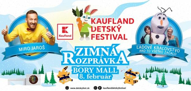 Zábava s Klubom MAMA a ja: Kaufland Detský festival prinesie už 8. februára ZIMNÚ ROZPRÁVKU