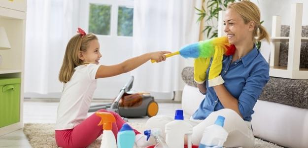 Domáce práce upratovanie