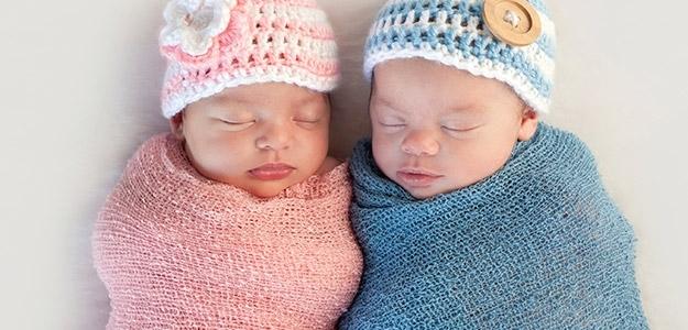 predispozícia na dvojčatá