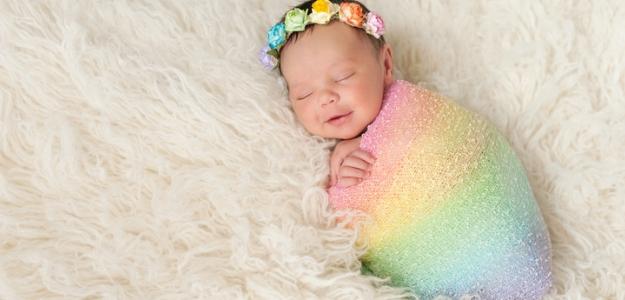 spánok bábo dieťa dlhý