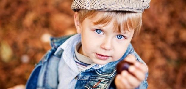 Gaštany, orechy, lístie: zábava pre deti