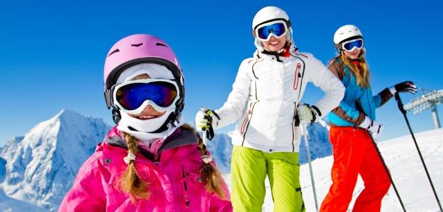 lyže, lyžovať, lyžiar, deti